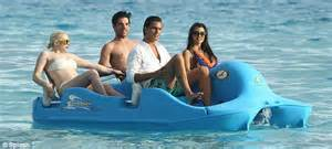 Humphries on kardashian family bora bora trip for reality show special