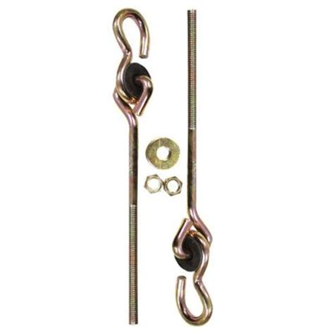 swing hooks home depot lehigh 2 piece swing hardware set 7402s 6 the home depot