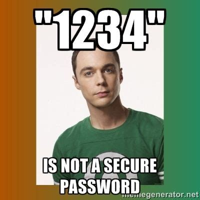 Password Meme - safe password meme google search digital citizenship