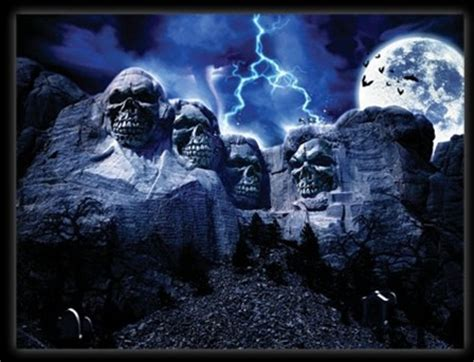 mt rushmore gushmore scary picture