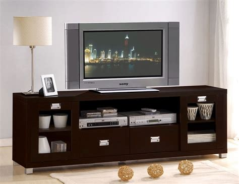 Tv Cabinet Entertainment Center by Espresso Tv Stand Cabinet Entertainment Center