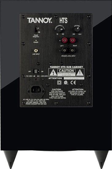 tannoy hts  review trusted reviews