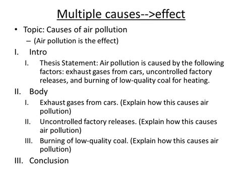 Cause And Effect Of Air Pollution Essay by 1 Cause And Effect Essays Top Quality Homework And Assignment Help