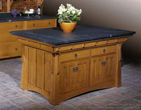 mission style kitchen island 178 best craftsman style kitchens images on pinterest