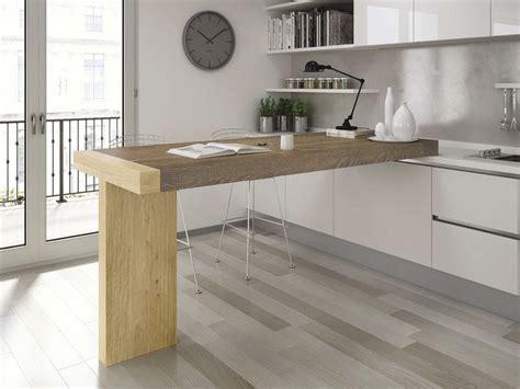 tavolo alto cucina tavolo a penisola alto da cucina tau domus arte