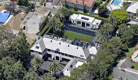 simon cowell house in beverly california map