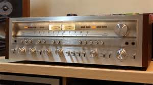 Vintage Stereo Golden Age Of Audio Pioneer Sx 1250 Vintage Stereo Receiver