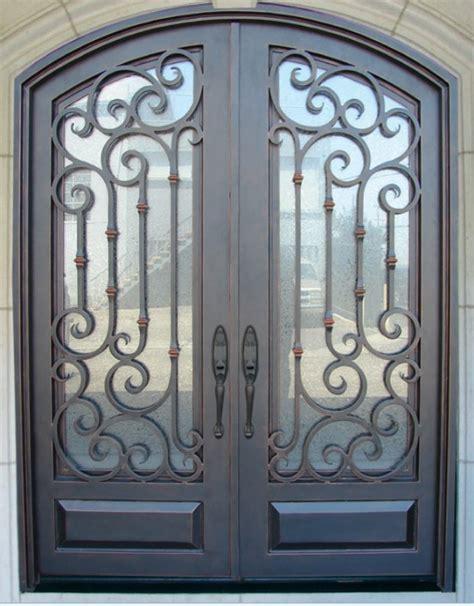 wrought iron doors security doors wrought iron security door designs