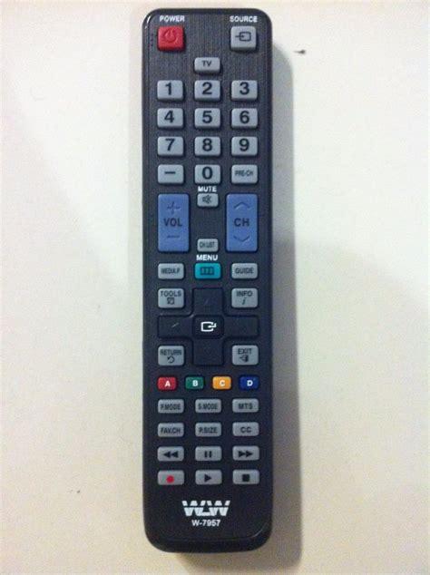 controle remoto tv lcd samsung aa  aa