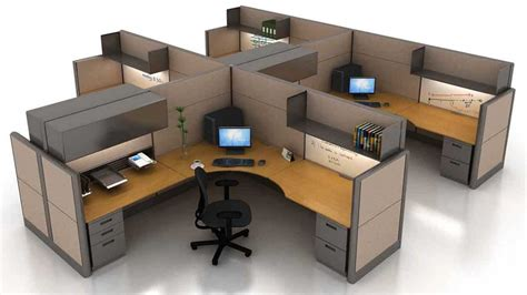office furniture computer workstation modular desk
