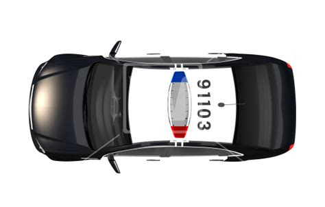 police car top view  high resolution png image  imagery bank