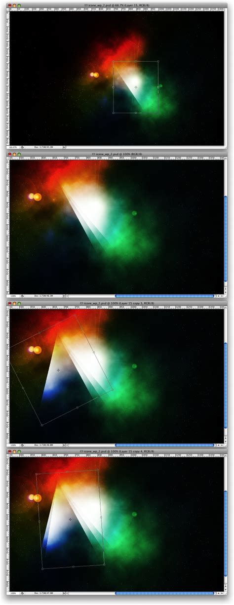 Photoshop Light Effects by Space Lighting Effects In 10 Steps Photoshop Tutorial