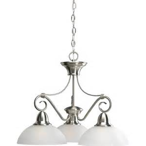 home depot chandelier progress lighting pavilion collection brushed nickel 3
