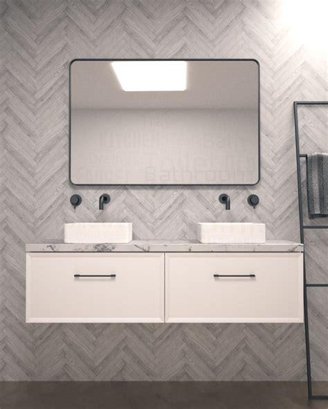 Slim Matte Black by Slim Matte Black Framed Mirror S S Corner