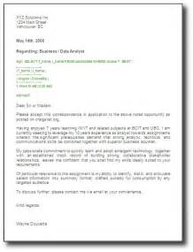 Cover Letter Line Spacing by Cover Letter Exles General