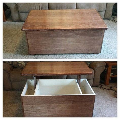 Diy Lift Top Coffee Table Diy Lift Top Coffee Table Diy Projects For Everyone