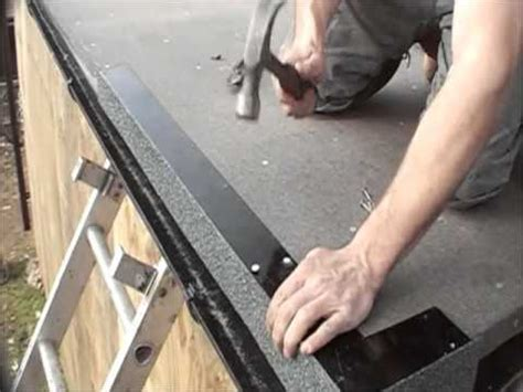 flat roof installation  england youtube