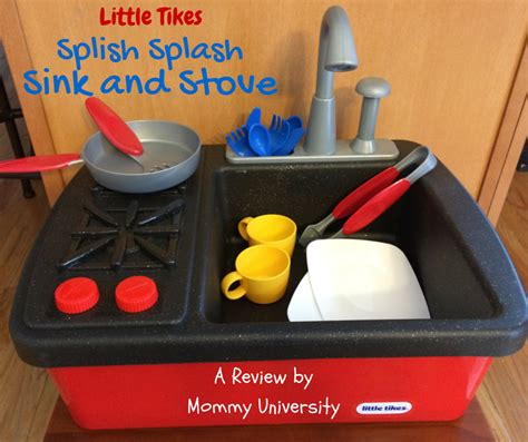 little tikes sink and stove play clean and learn with the little tikes splish splash