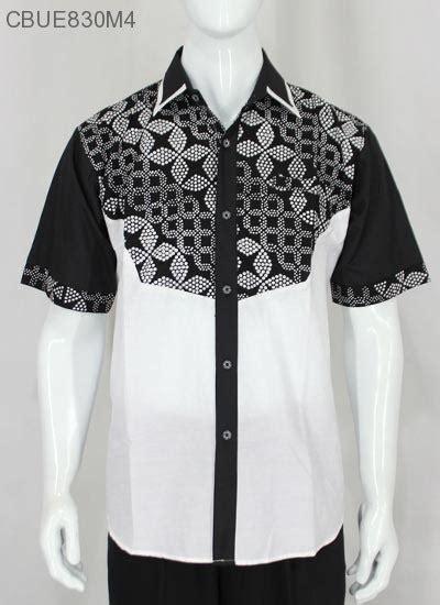 Kemeja Batik Pendek Murah kemeja batik pendek hitam putih kemeja pendek murah