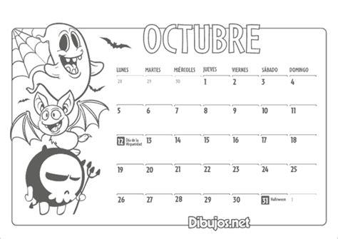 Calendario De Octubre 2015 Calendario Octubre 2015 Para Imprimir Imagexxl