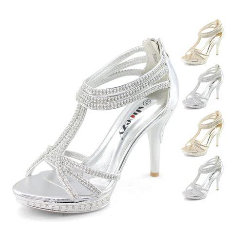 Wedges Lv 1329 silver high heels ebay rachael edwards