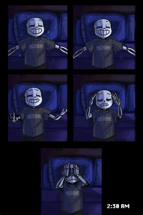 arts papyrus long post sans undertale insomnia comic insomnia au wilyart