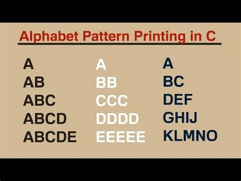 c practical and assignment programs pattern printing 1 c practical and assignment programs pattern printing 1 doovi