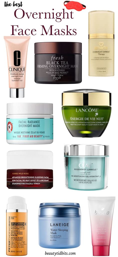 11 best sheet masks for your face hydrating facial mask reviews maximize your beauty sleep with these overnight face masks