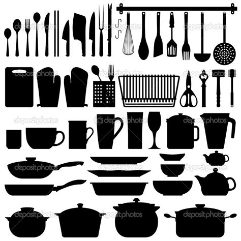 Kitchen Set A Others cookware kitchen utensils clipart clipground
