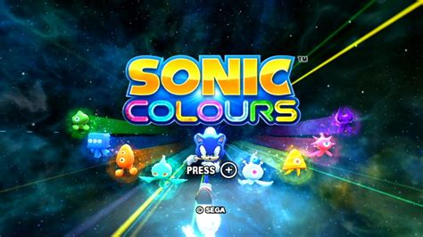 sonic colors sonic colours wii playthrough longplay