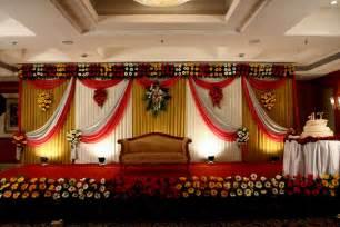 Simple stage decoration with clothes artflyz com