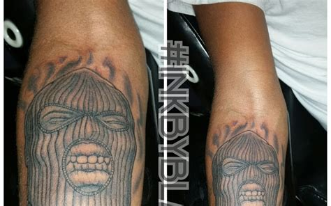 ski mask tattoo ski mask tattoos pictures www picturesboss