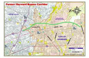 map of hayward california district 4 state route 238 hayward bypass program