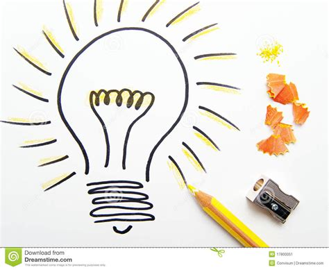 idea pictures sketch of ideas light bulb stock image image of
