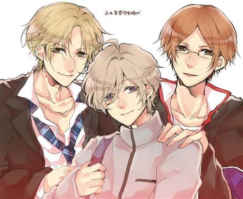 hikaru brothers conflict brothers conflict otome kaname hikaru