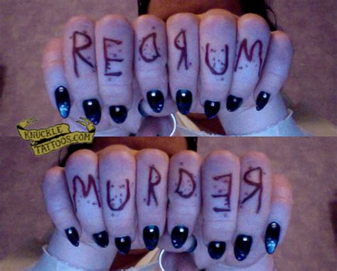 redrum tattoo redrum sniderwriter