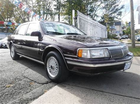 automobile air conditioning service 1992 lincoln continental mark vii auto manual 1992 lincoln continental executive 4dr sedan in plainfield nj new plainfield auto sales