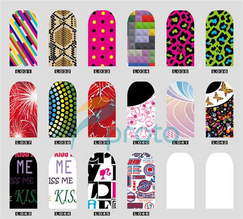 Koji Nail Stickers No 04 aliexpress buy 2013 new design fashion nail
