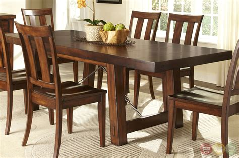 image rustic dining room sets