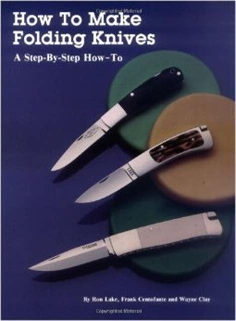 make folding knife knifemaking books