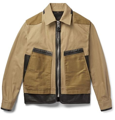 z design jacket style parka coach panelled twill and leather jacket what to wear