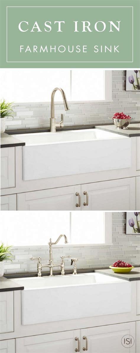 33 quot almeria cast iron farmhouse kitchen sink farmhouse 17 best ideas about cast iron farmhouse sink on pinterest