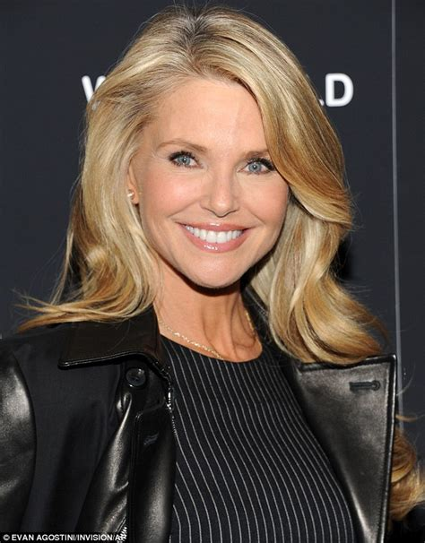 58 year old actresses christie brinkley 59 and iman 58 show up women half