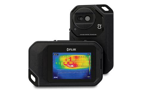 Kamera Flir C2 Pocket Thermal Termal Asli Ukuran Kantong flir c2 pocket sized thermal industrial safety review