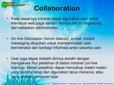 membuat website intranet portal dirjen pajak indonesia