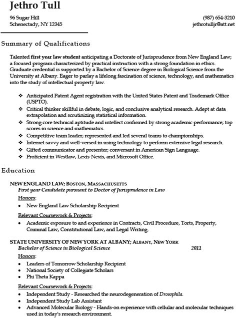 Resume Samples Student by Law Student Resume Learnhowtoloseweight Net