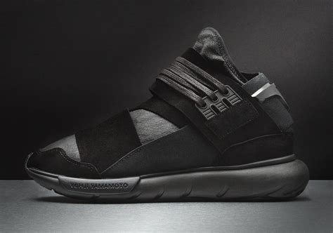 adidas y3 qasa adidas y 3 qasa high premium triple black sneaker bar