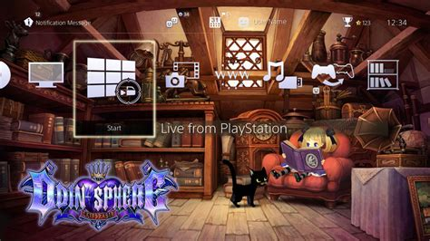 ps4 themes us store odin sphere leifthrasir psn themes and ps4 avatars