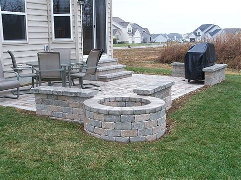 easy brick patio paver patios patio design newark columbus ohio oh