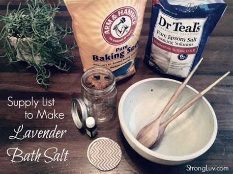 how to make a salt l how to make soothing lavender bath salts the perfect